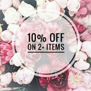 🌸10% OFF 2+ ITEMS!!!🌸